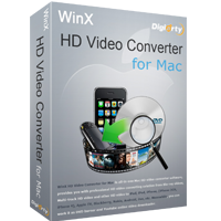 WinX HD Video Converter for Mac (1 MAC)