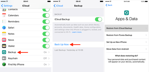 how to download pictures from icloud to new iphone