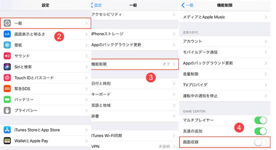 iOS 11画面録画で音が入らない