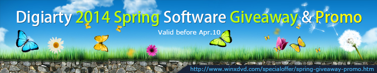 Spring Software Giveaway