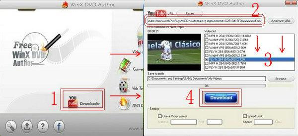 Youtube動画をDVDに焼く方法