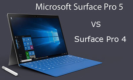 Surface Pro 5とSurface Pro 4の違い