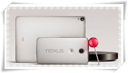 Nexus6とNexus9の違い
