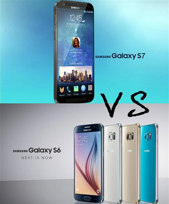 Galaxy S7対Galaxy S6比較