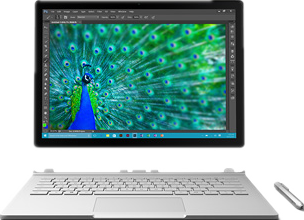 Surface Book とMacBook Pro比較