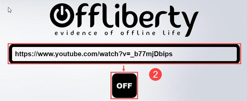 Offliberty使い方