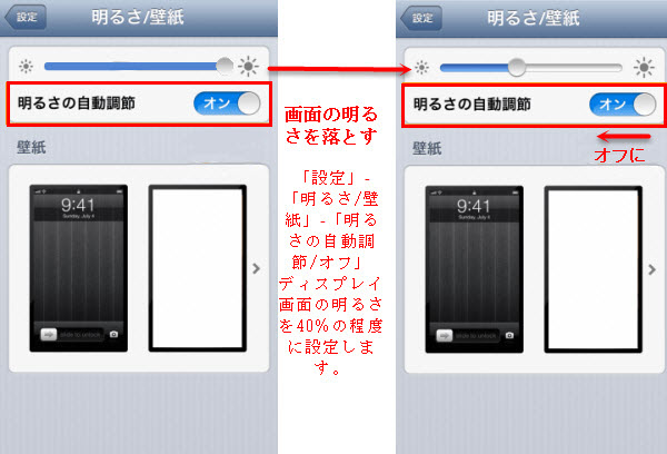 iPhone 6/iPhone 6 Plusの省電力術