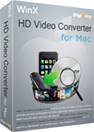 WinX HD Video Converter for Mac