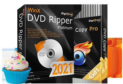 WinX DVD Ripper Platinum buy one get one free