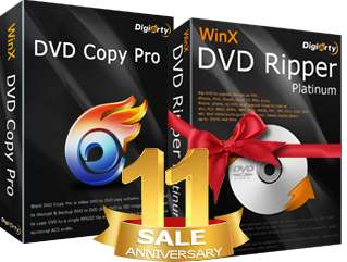 WinX DVD Copy Pro buy one get one free