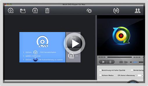 WinX DVD Ripper für Mac