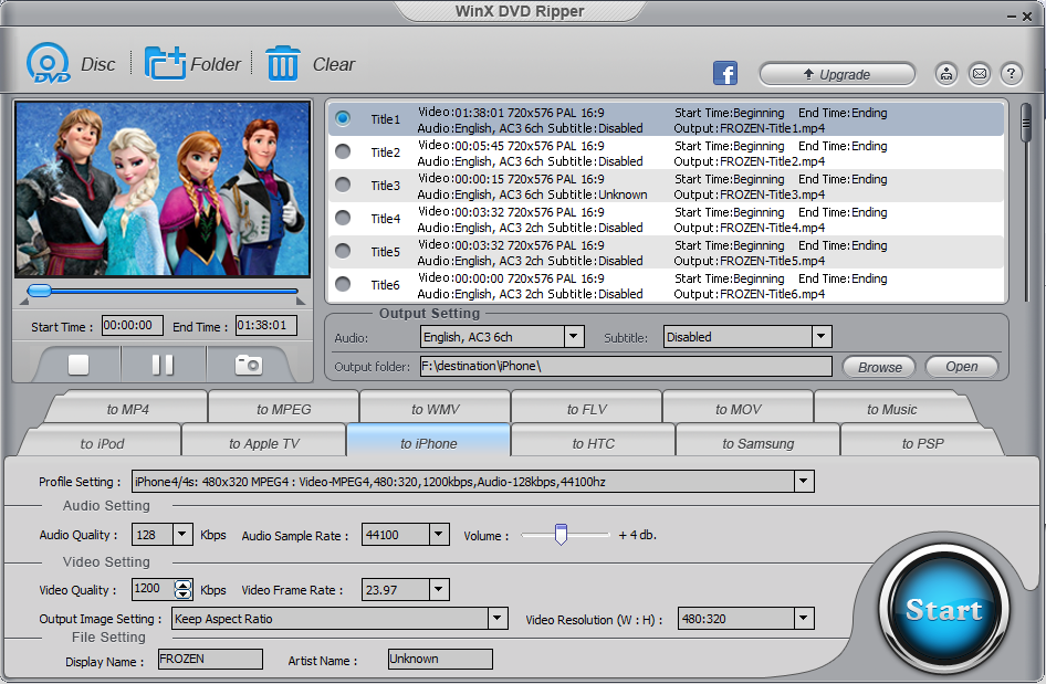 How to Rip DVD on Windows (10) with WinX DVD Ripper