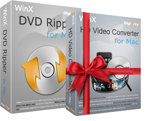 Buy WinX DVD Ripper for Mac, Free Get WinX iPhone Converter for Mac