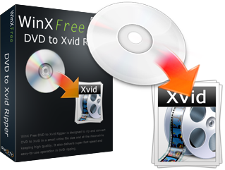 WinX Free DVD to XviD Ripper