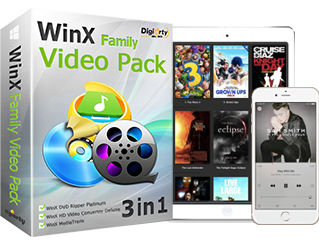 WinX Family Video Pack