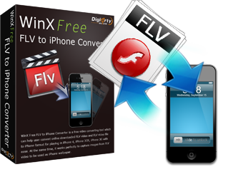 WinX FLV to iPhone Video Converter for Mac