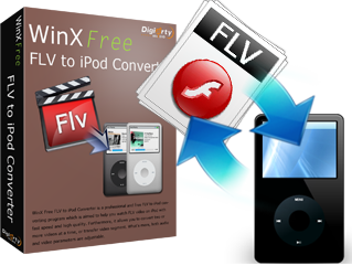 WinX Free FLV to iPod Converter