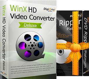 WinX DVD Ripper Platinum + WinX HD Video Converter Deluxe