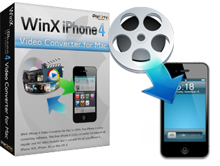 WinX iPhone 4 Video Converter for Mac