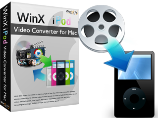WinX iPod Video Converter for Mac