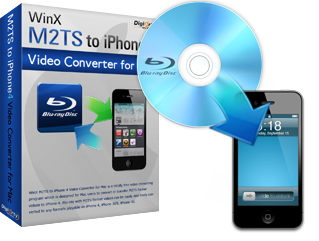 WinX M2TS to iPhone 4 Video Converter for Mac