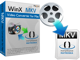 WinX MKV Video Converter for Mac