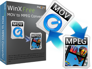 WinX Free MOV to MPEG Converter