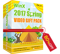 WinX 2017 Spring Video Gift Pack (1 Mac)