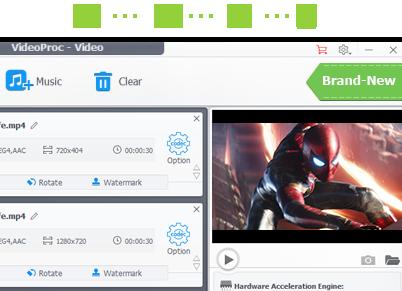 WinX HD Video Converter Deluxe Now VideoProc