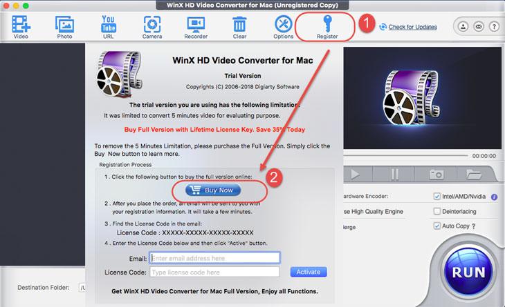 winx hd video converter for mac license code