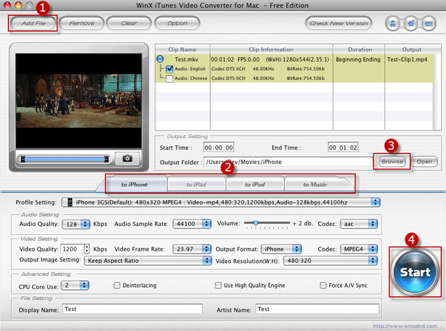 Avi To Itunes Video Converter For Mac Free