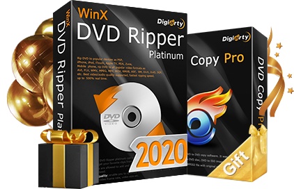 WinX DVD Ripper Platinum buy one get one free