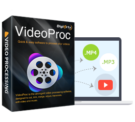video to audio converter - videoproc