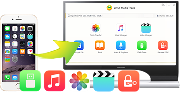 how to put photos from pc to iphone without itunes
