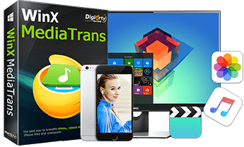 iPhone 7 file transfer software - WinX MediaTrans