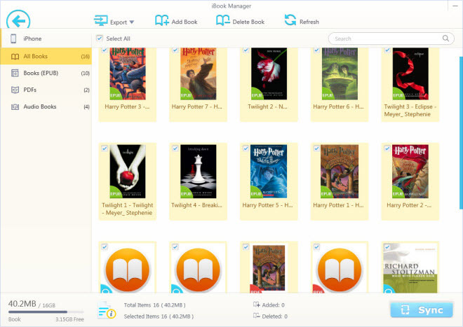 What Are Best iBooks E-book Formats? How to Add E-books to