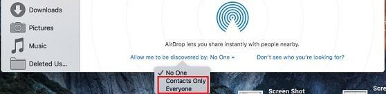 Airdrop Not Working On Mac Os Sierra Iphone 8 Ios 11