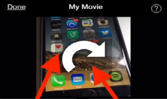 Rotate video iphone x8 how to rotate iphone video easiest guide how to rotate iphone 7 video with imovie ccuart Images