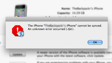 iphone sync error iphone itunes problems troubleshooting tricks on 2624