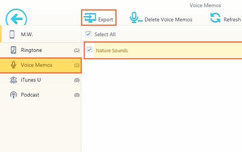 voice memo to ringtone app