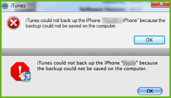 iphone not backing up top 5 quot itunes could not backup the iphone quot errors amp fixing 1589