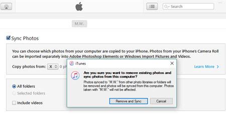 How to delete photo album in iphone 6