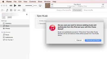 How to Transfer Music/Songs from iPod to iTunes or Computer