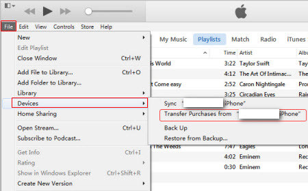 Guide] How to Transfer Music from iPhone to iTunes Library