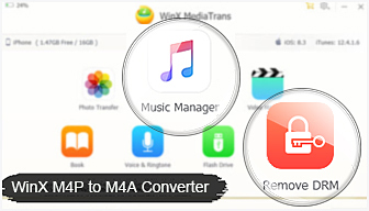 How to Convert DRM-ed M4P to M4A for Freer Listening
