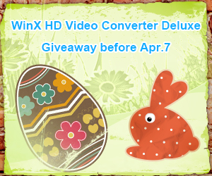 WinX HD Video Converter Giveaway Before Apr 7