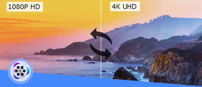 Conversion between 4K and 1080p