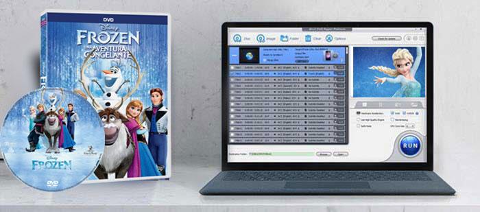 Rip DVD Frozen