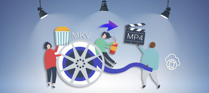 convert mkv to mp4 online with no limit