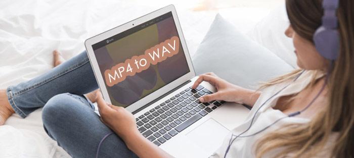 free convert MP4 to wav